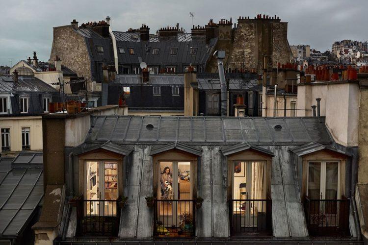 Париж напротив. Гейл Алберт-Халабан, «Из моего окна»